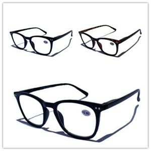 Mens Ladies Fashion Magnifying Trendy Reading Glasses Nerd Spectacle