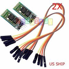 2X Wireless RF Transceiver Bluetooth HC-06 Slave Module RS232/TTL for Arduino