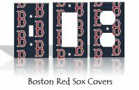 Boston Red Sox Light Switch Covers Baseball MLB Home Decor Outlet