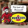 Pennzoil Man Aufkleber Sticker Autocollante Pegatina Old School Hot Rod