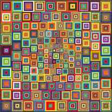 """NEW - APOCALYPSO - 91"""" - Pre-cut Quilt Kit by Quilt-Addicts Queen size"""