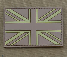 """PVC / Rubber Patch """"Desert Brown UK Flag"""" with VELCRO® brand hook"""