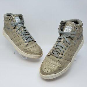 Adidas Top Ten Hi Mens Casual Beige Cream Shoes Size US 10.5 S85680