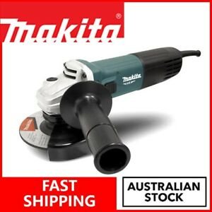 MAKITA Electric Angle Grinder 125mm Corded Grinding Power Tools Polisher DIY Kit