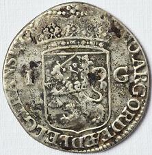 1 Gulden Silbermünze 8,47 g Silber Münze Niederlande 1738 Republik