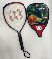 """Wilson Xpress Cliff Swain Stretch 22"""" Racquetball Racket With Case"""