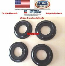 1968 69 Plymouth Barracuda Cuda Window Crank Handle Spacer 4 pc Kit NEW MoPar