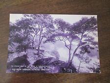 VINTAGE POSTCARD, THE GEYSER AT HACHIMAN JIGOKU JETTING A DENSE STEAM MT UNZEN .