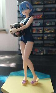 Re:Zero Rem Figur Natsu no Hi no Kimi ni (SEGA) Anime Manga ca. 21 cm
