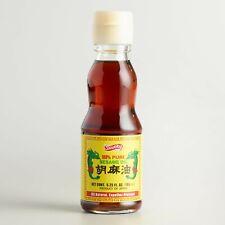 Shirakiku 100% Pure Sesame Oil 6.25oz - PRODUCT OF JAPAN - ALL NATURAL