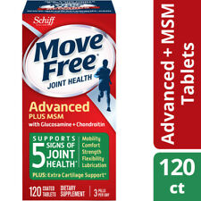 Move Free Advanced Schiff Dietary Supplement Tablets For Joint Heath - 120 CT