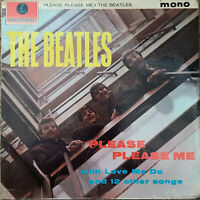 THE BEATLES ~ Please Please Me ~Rare 1963 UK FIRST PRESSING Gold label vinyl LP