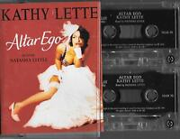 2 cassettes ALTAR EGO kathy lette read by natasha little AUDIO BOOK ON CASSETTES