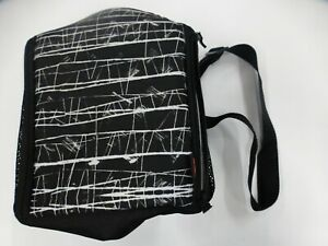 Rubbermaid LunchBlox Lunch Bag, Medium, Black Etch (BB-37)