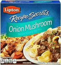 Lipton Recipe Secrets Onion Mushroom Recipe Soup & Dip Mix Pack of 3