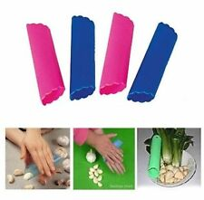 4 pcs Magic Silicone Garlic Peeler Peel Easy Useful Kitchen Cooking Tool New