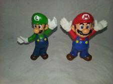 lot x2 figurines MCDO Nintendo SUPER MARIO BROS (2013) Mario/Luigi