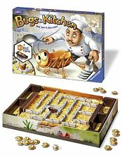 Bugs In The Kitchen Family Kids Board Game Special Edition With Hexbug Nano UK
