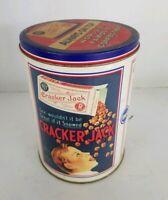 Vintage Cracker Jack Tin Popcorn Confection Vintage 1990's 11oz  Can #025305