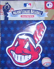 Cleveland Indians Chief Wahoo Jersey Sleeve Official MLB Logo Patch FREE SHIP