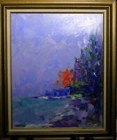 Original Impressionist Beach Oil Painting by Florida Artist Jonas Clark