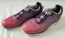 Womens Size 9 N Navy Plum FootJoy Empower Boa Golf Shoes 98004 preowned