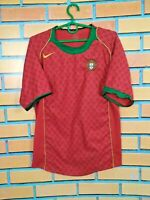 Portugal Jersey 2004 2006 Home SMALL Shirt Camiseta Football Soccer Trikot Nike