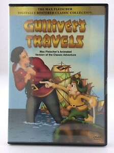 2002 Gullivers Travels DVD Movie Max Fleischer Restored Classic Collection T876