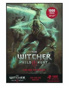 Witcher 3 Wild Hunt Puzzle Ciri und die Wölfe - Dark Horse