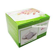 Lint Free Nail Wipes 80 Sponges - For Acrylics, Wraps, UV Gels Gentle Disposable