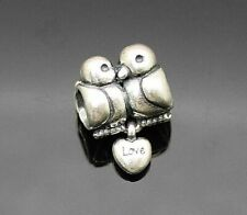 AUTHENTIC PANDORA ALE ADORABLE LOVE BIRDS DANGLE STERLING SILVER BEAD / CHARM
