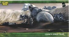 Star Wars Clone Wars Widevision Silver Stamped Parallel Base Card [500] #73
