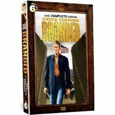 BRANDED COMPLETE SERIES (6 DVD Set) Seasons 1 + 2 Chuck Connors