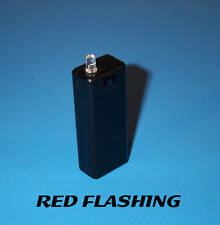 FAKE CAR ALARM LED LIGHT- RED BLINKING AAA BATTERY DIY