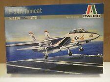 NEW MODEL- ITALERI MODEL KIT NO.1156 F-14A TOMCAT- 1:72- NEW- W55