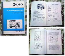BETRIEBSANLEITUNG IFA L60 DSK KIPPER L 60 W50 W 50 URAL ROBUR NVA