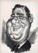 Caricatura Alberto Sordi vista da Chiri