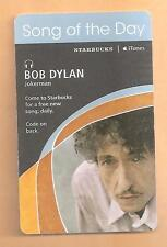 Bob Dylan - Jokerman - Starbucks Song of the Day Card - iTunes - 2007