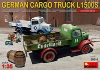 MiniArt German Cargo Truck L1500S / L 1500 S Bausatz Kit 1:35 Kit Art 38014 LKW