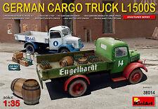 MINIART GERMAN Cargo CAMION L1500S/L 1500 S KIT 1:3 5 TIPO 38014 AUTOCARRO