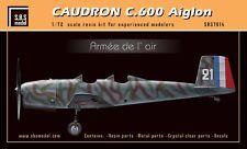 SBS Model 7014 1/72 Caudron C.600 Aiglon 'Armée de l'Air' full resin kit