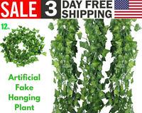 Artificial Fake Hanging Ivy Vine Leaf Garland Plants Leaves Like Real Home Decor