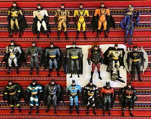 Lot Of 20 Kenner Batman: The Animated Series Action Figures, 1990s, Accessories