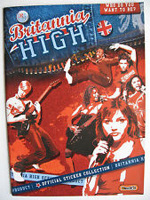 "E-Max Sammelbilderalbum ""Britannia High"", englisch, Leeralbum plus Bildersatz"
