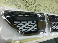 CHROMED BLACK SIDE VENT 3D MESH RANGE ROVER SPORT L320 SPORT MODEL 2010-2013