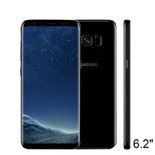 "Noir Samsung Galaxy S8+ Plus SM-G955U 64 Go  Désimlocké GSM 4G Smartphone 6,2"""