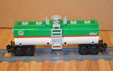 "NEW Lego Train Custom Green/White Octan Car 9"" inches long RC/9V/CITY"