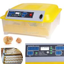48 Egg Automatic Incubator Digital Hatching Poultry Chicken Temperature Control