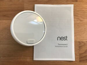 GUC Nest Thermostat E, works perfectly Model A0063