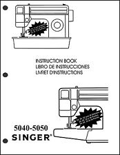 Singer 5040 - 5050 sewing machine User Guide Instruction  Manual